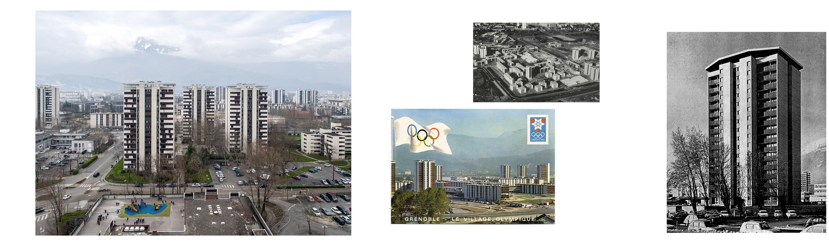 Village Olympique Grenoble Un Modernisme Olympique